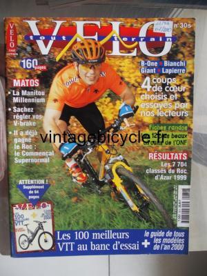 VELO TOUT TERRAIN 1999 - 12 - N°30 decembre 1999 / janvier 2000