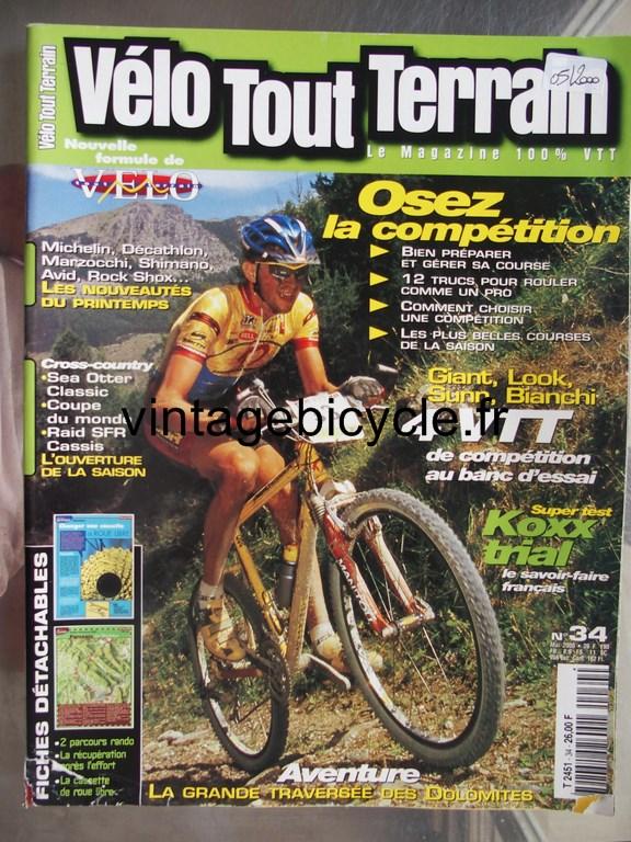 Vintage bicycle fr velo tout terrain 5 copier