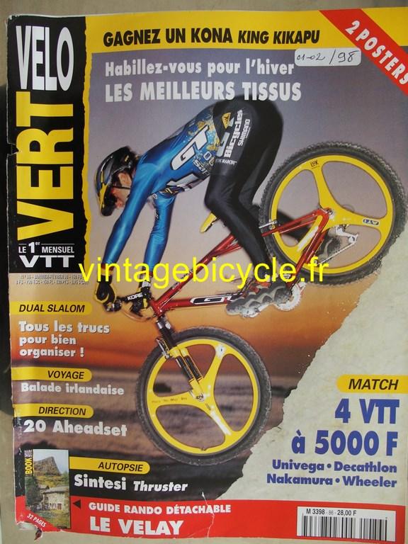 Vintage bicycle fr velo vert 1 copier 1