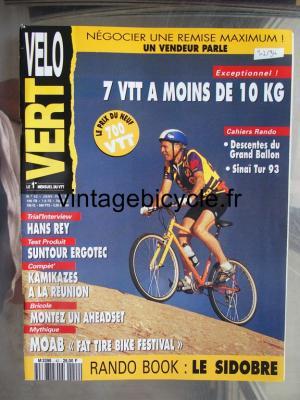 VELO VERT 1994 - 01 - N°42 janvier / fevrier 1994