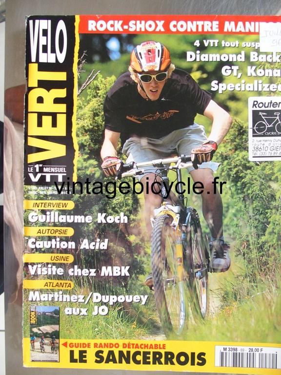 Vintage bicycle fr velo vert 11 copier