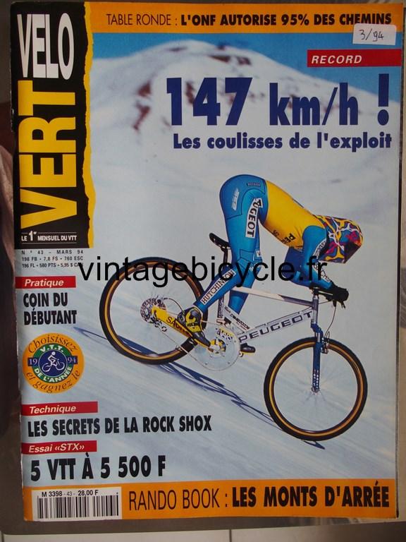 Vintage bicycle fr velo vert 2 copier