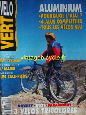 VELO VERT 1991 - 07 - N°17 juillet 1991