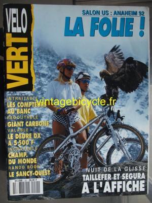VELO VERT 1991 - 11 - N°20 novembre 1991