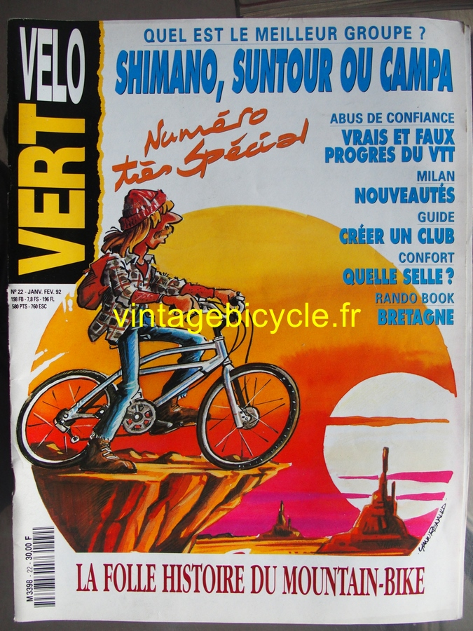 Vintage bicycle fr velo vert 20170223 13 copier