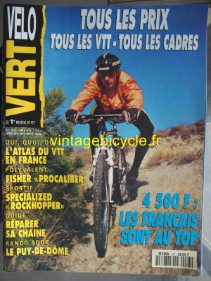 VELO VERT 1992 - 03 - N°23 mars 1992