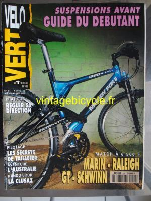 VELO VERT 1992 - 04 - N°24 avril 1992