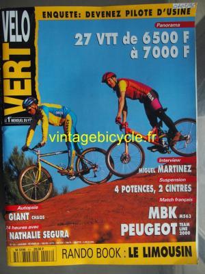 VELO VERT 1995 - 01 - N°53 janvier 1995