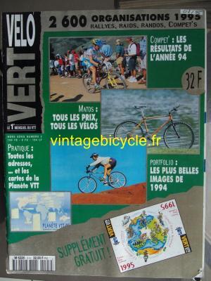 VELO VERT 1995 - 00 - N°3 Hors Série 1995