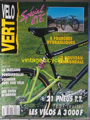 VELO VERT 1990 - 08 - N°8 aout 1990