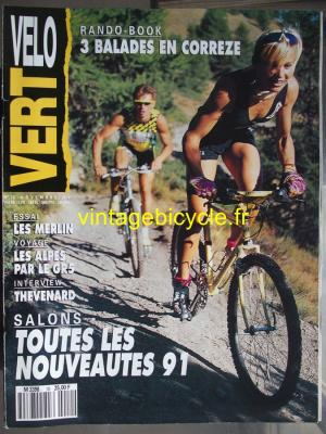 VELO VERT 1990 - 11 - N°10 novembre 1990
