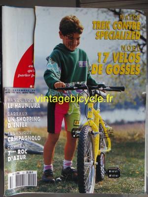 VELO VERT 1990 - 12 - N°11 decembre 1990