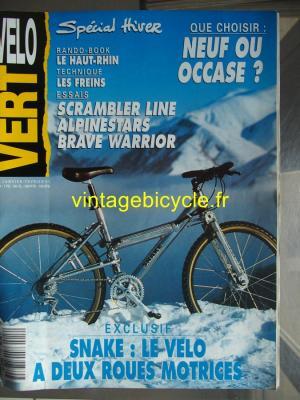 VELO VERT 1991 - 01 - N°12 janvier 1991