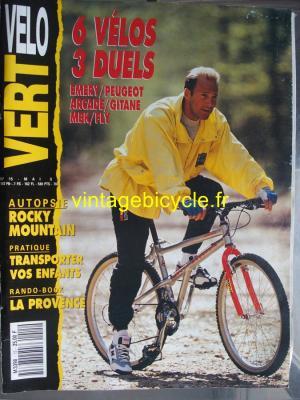 VELO VERT 1991 - 05 - N°15 mai 1991