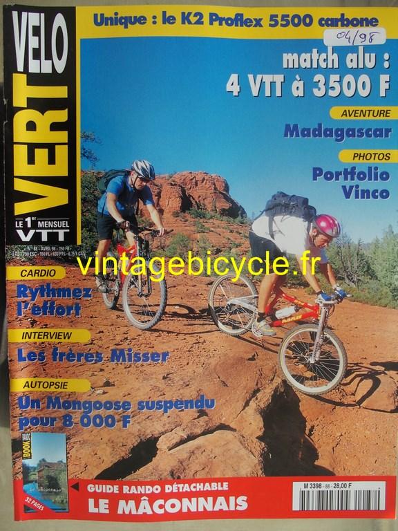 Vintage bicycle fr velo vert 3 copier 1