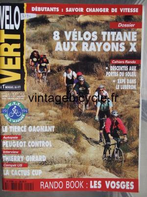 VELO VERT 1994 - 05 - N°45 mai 1994