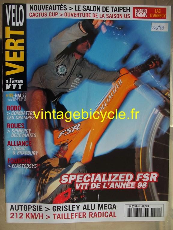 Vintage bicycle fr velo vert 4 copier 1