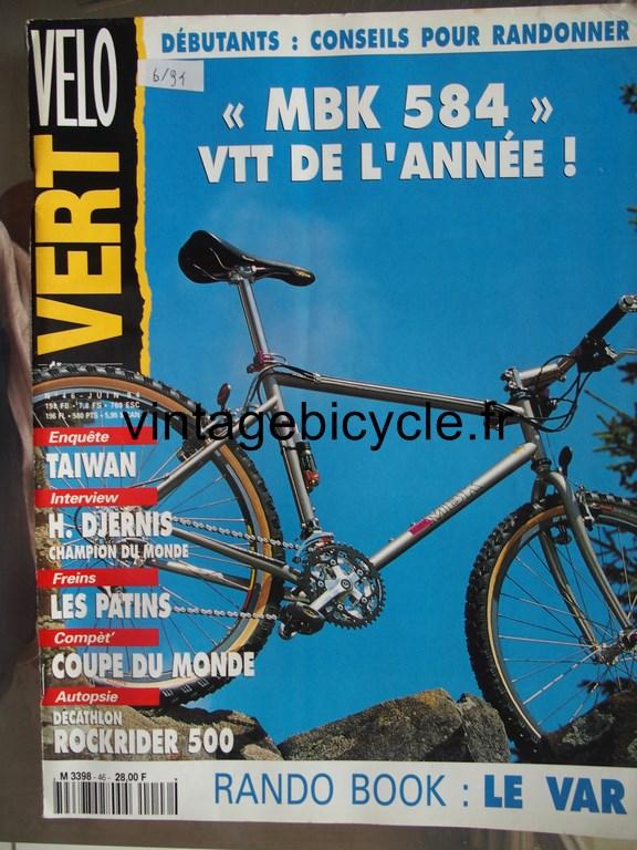 Vintage bicycle fr velo vert 4 copier