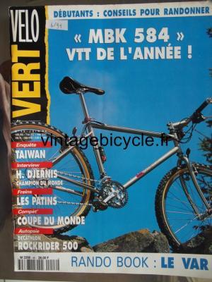 VELO VERT 1994 - 06 - N°46 juin 1994