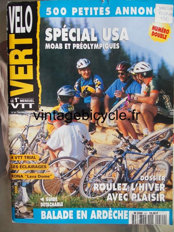 Vintage bicycle fr velo vert 8 copier