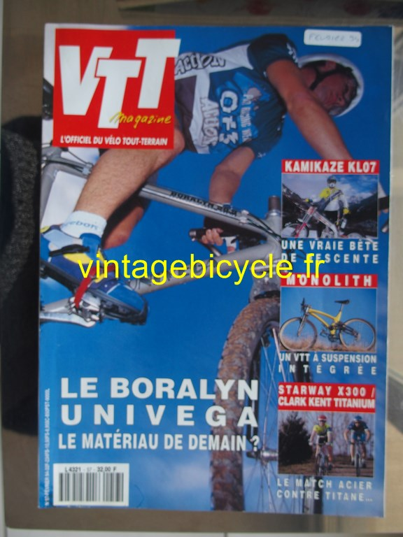 Vintage bicycle fr vtt magazine 10 copier