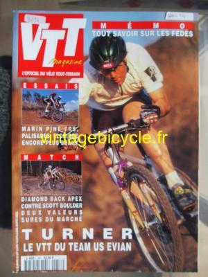 VTT MAGAZINE 1994 - 03 - N°58 mars 1994