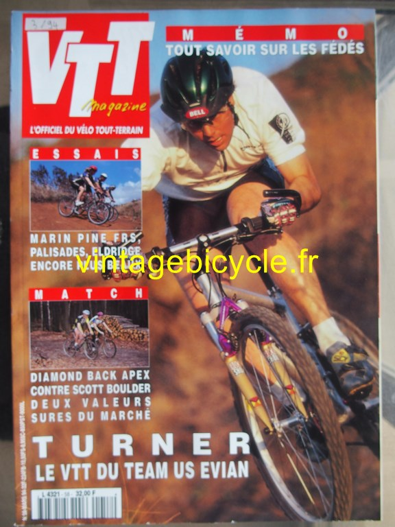 Vintage bicycle fr vtt magazine 13 copier