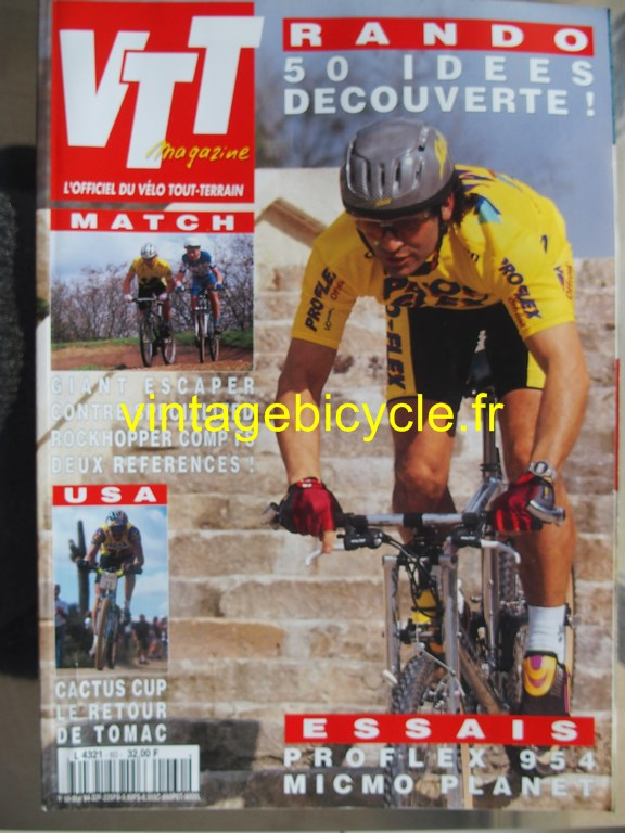 Vintage bicycle fr vtt magazine 15 copier
