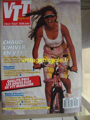 VTT MAGAZINE 1989 - 11 - N°11 novembre / decembre 1989