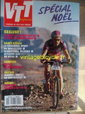 VTT MAGAZINE 1990 - 12 - N°22 decembre 1990