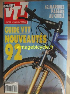VTT MAGAZINE 1992 - 00 - N°4 Hors série 1992