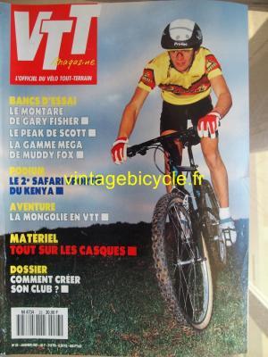 VTT MAGAZINE 1991 - 01 - N°23 janvier 1991