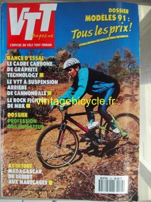 VTT MAGAZINE 1991 - 02 - N°24 fevrier 1991