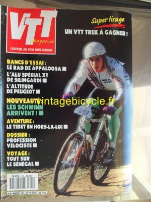 VTT MAGAZINE 1991 - 03 - N°25 mars 1991