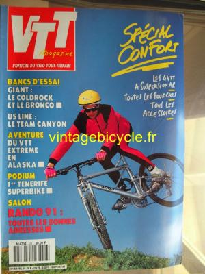 VTT MAGAZINE 1991 - 04 - N°26 avril 1991