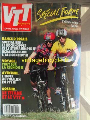 VTT MAGAZINE 1991 - 05 - N°27 mai 1991