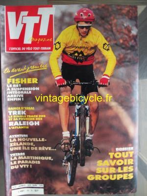 VTT MAGAZINE 1992 - 01 - N°34 janvier 1992