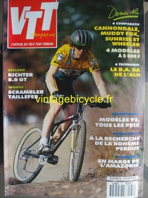 VTT MAGAZINE 1992 - 04 - N°37 avril 1992