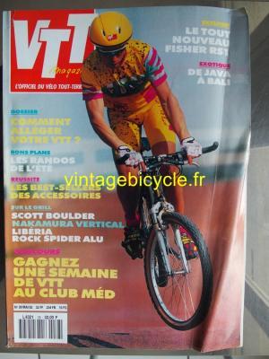 VTT MAGAZINE 1992 - 05 - N°38 mai 1992