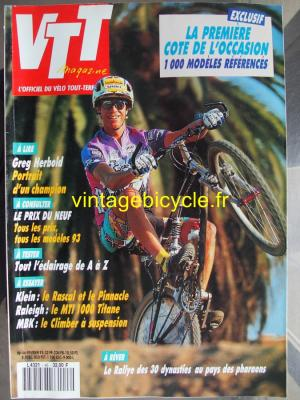 VTT MAGAZINE 1993 - 02 - N°46 fevrier 1993