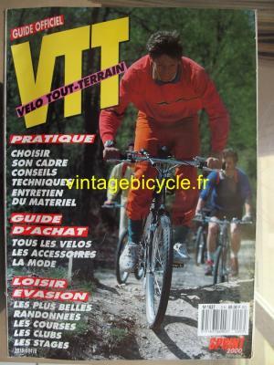 VELO TOUT TERRAIN 1987 - 00 - N°3 Hors serie 1987