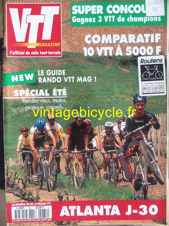 Vintage bicycle fr vtt magazine 34 copier