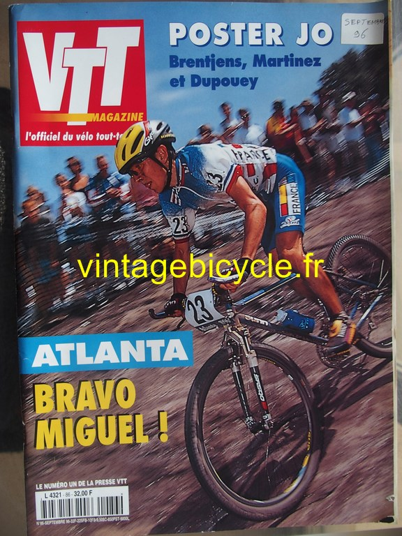 Vintage bicycle fr vtt magazine 36 copier