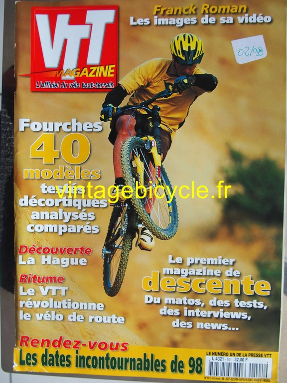 Vintage bicycle fr vtt magazine 40 copier