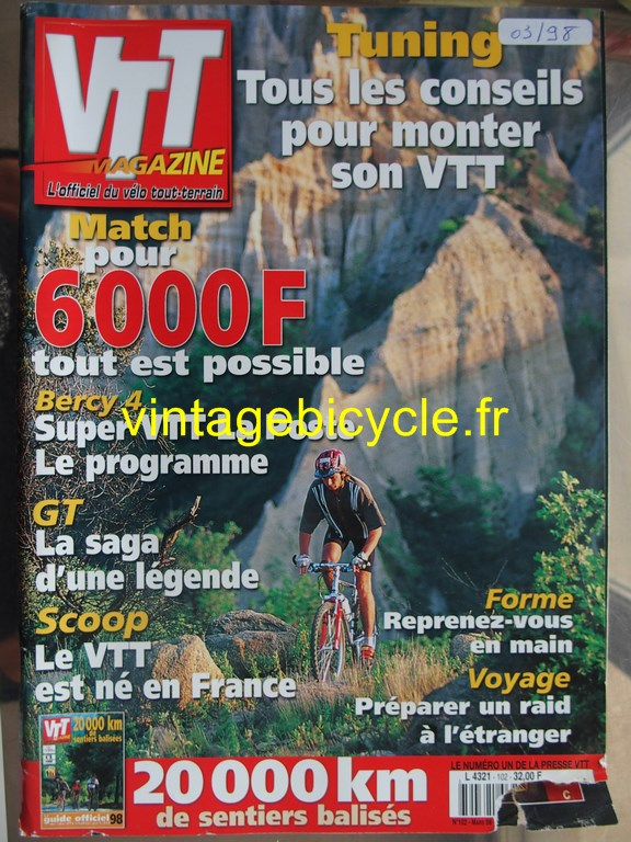 Vintage bicycle fr vtt magazine 41 copier