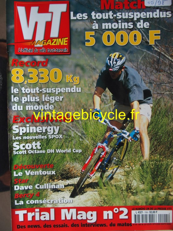 Vintage bicycle fr vtt magazine 42 copier