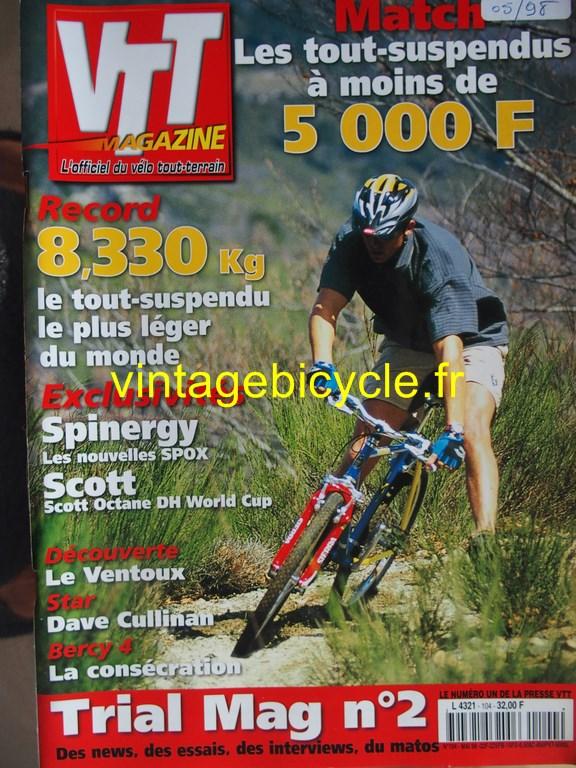 Vintage bicycle fr vtt magazine 42 copier