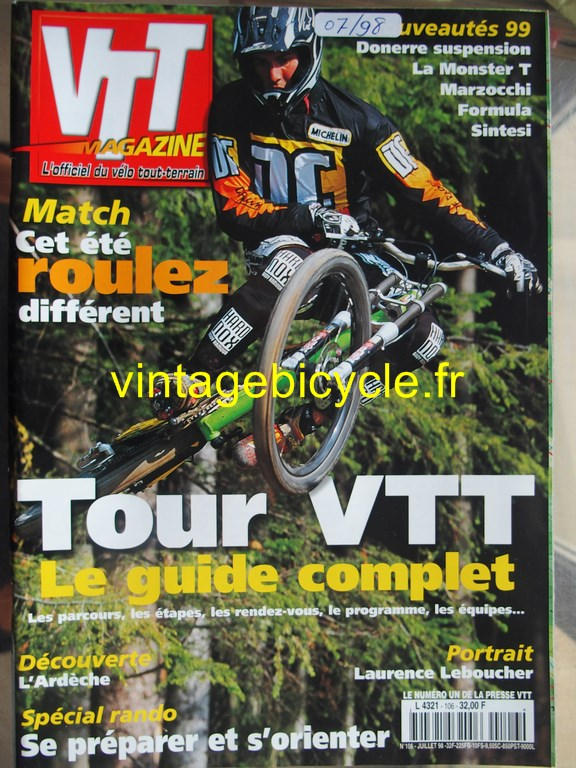 Vintage bicycle fr vtt magazine 44 copier