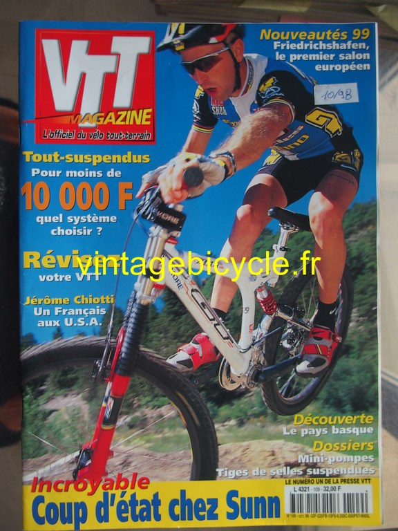 Vintage bicycle fr vtt magazine 45 copier