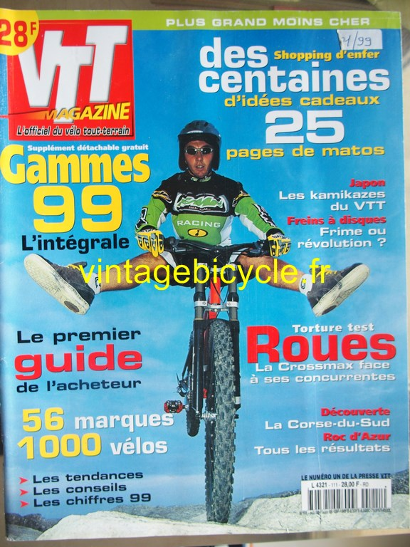 Vintage bicycle fr vtt magazine 46 copier